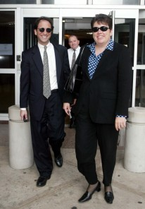 Federal prosecutor Andrew Weissmann (L) and Assist